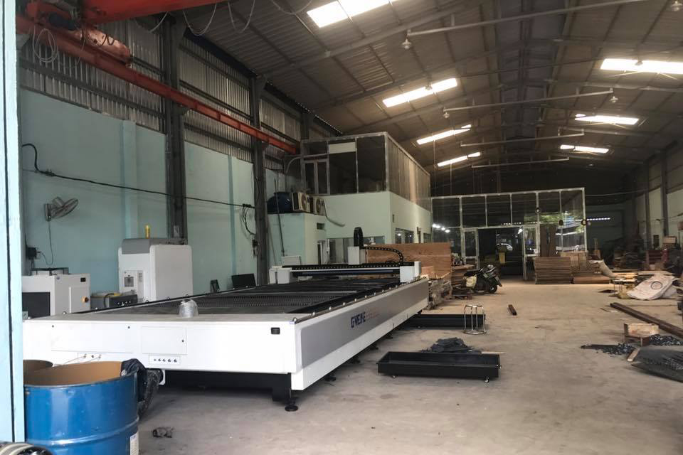 Xưởng cắt Laser và CNC