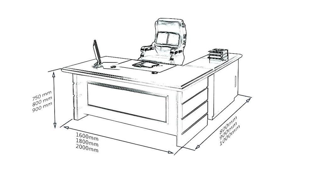 Kết quả hình ảnh cho kích thước bàn giám đôc