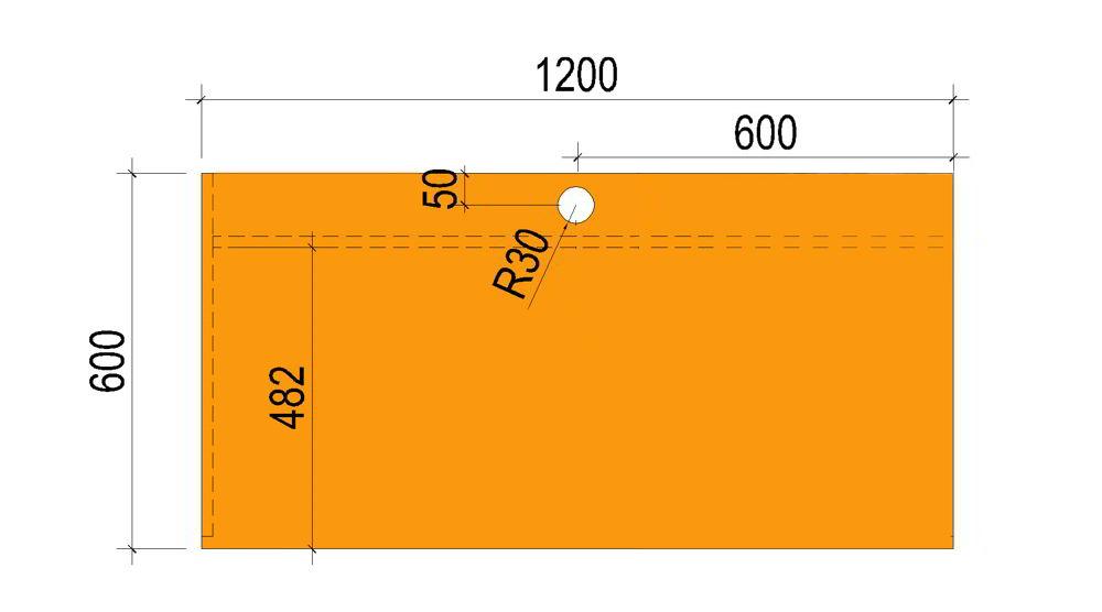 kích thước chuẩn của mặt bàn làm việc