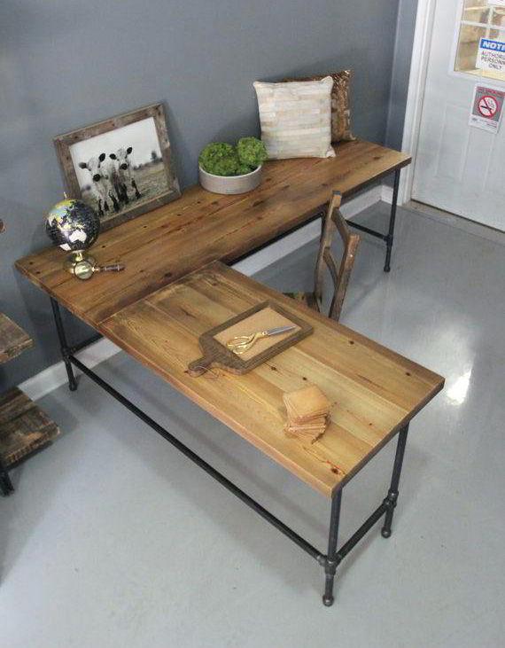 bàn làm việc bằng gỗ
