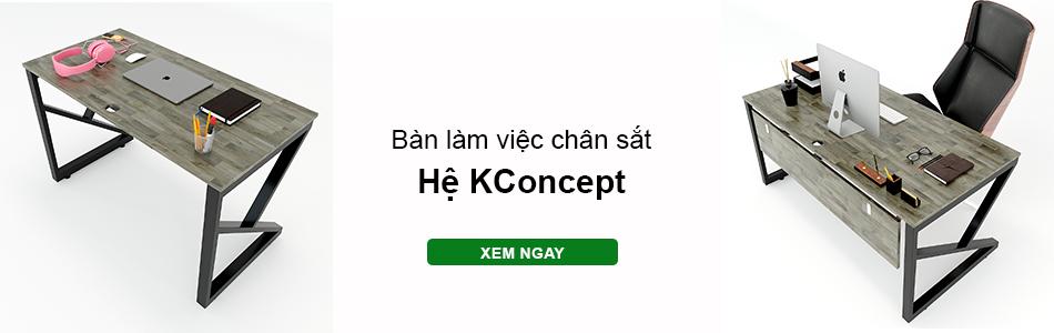 Bàn văn phòng hệ Kconcept