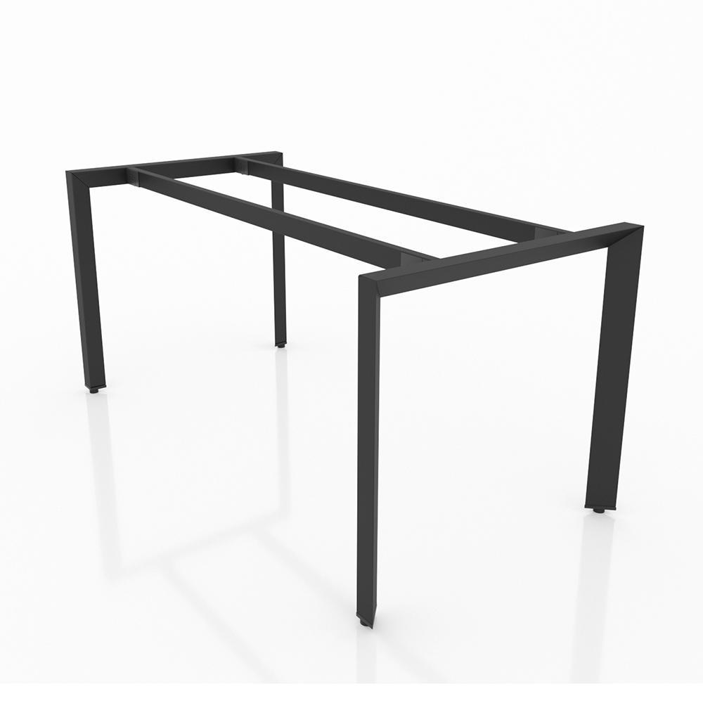 BHTG001 - Chân bàn họp 1600x800 sắt tam giác lắp ráp ngàm