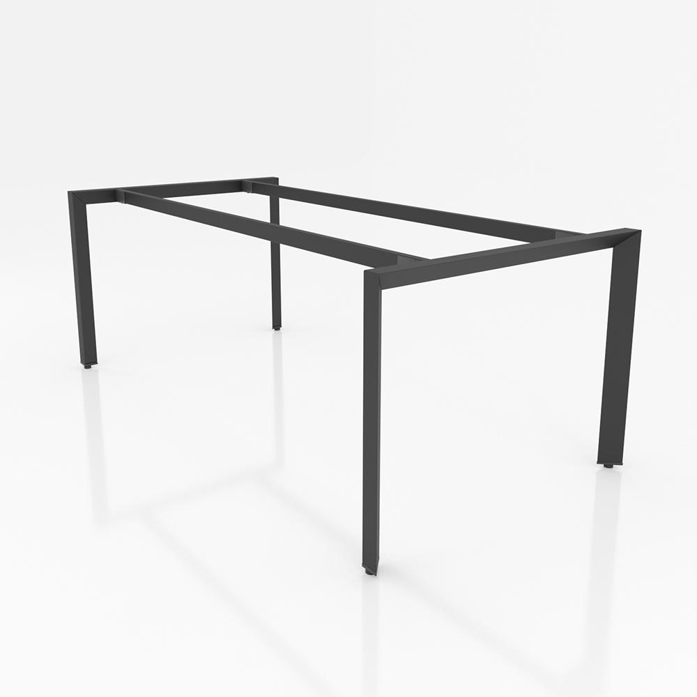 BHTG003 - Chân bàn họp 2000x1000 sắt tam giác lắp ráp ngàm