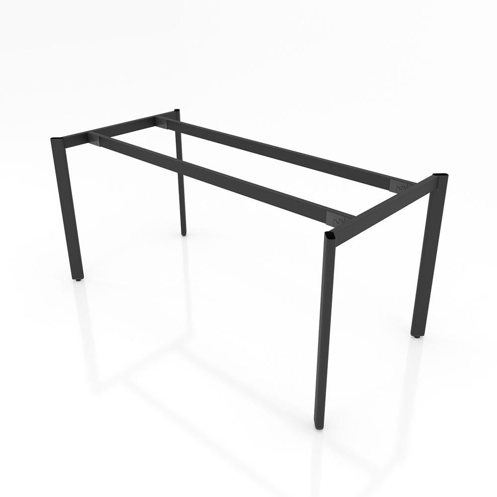 BHOV001 - Chân bàn họp 1600x800cm sắt Oval lắp ráp ngàm
