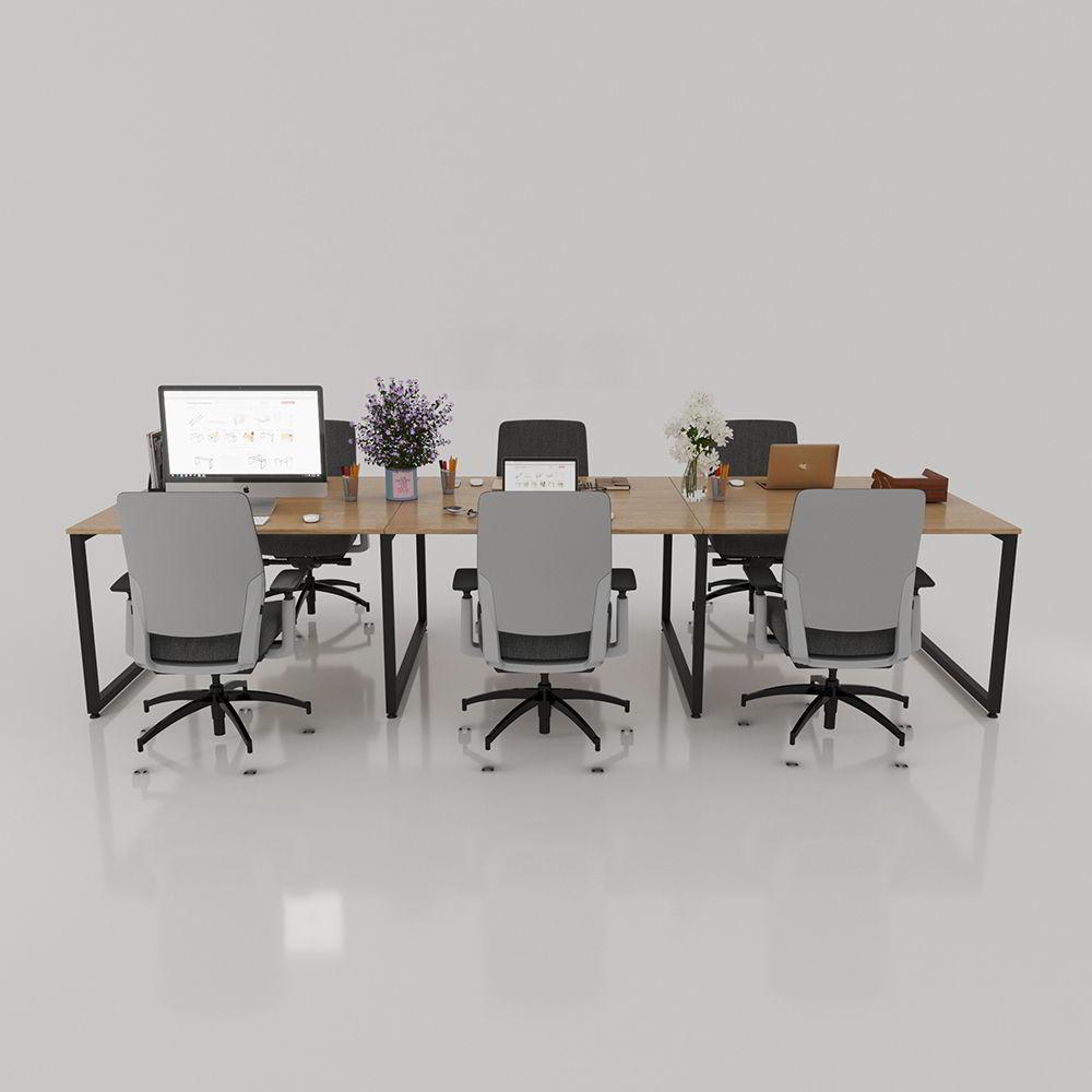 bàn cụm văn phòng có thiết kế hiện đại