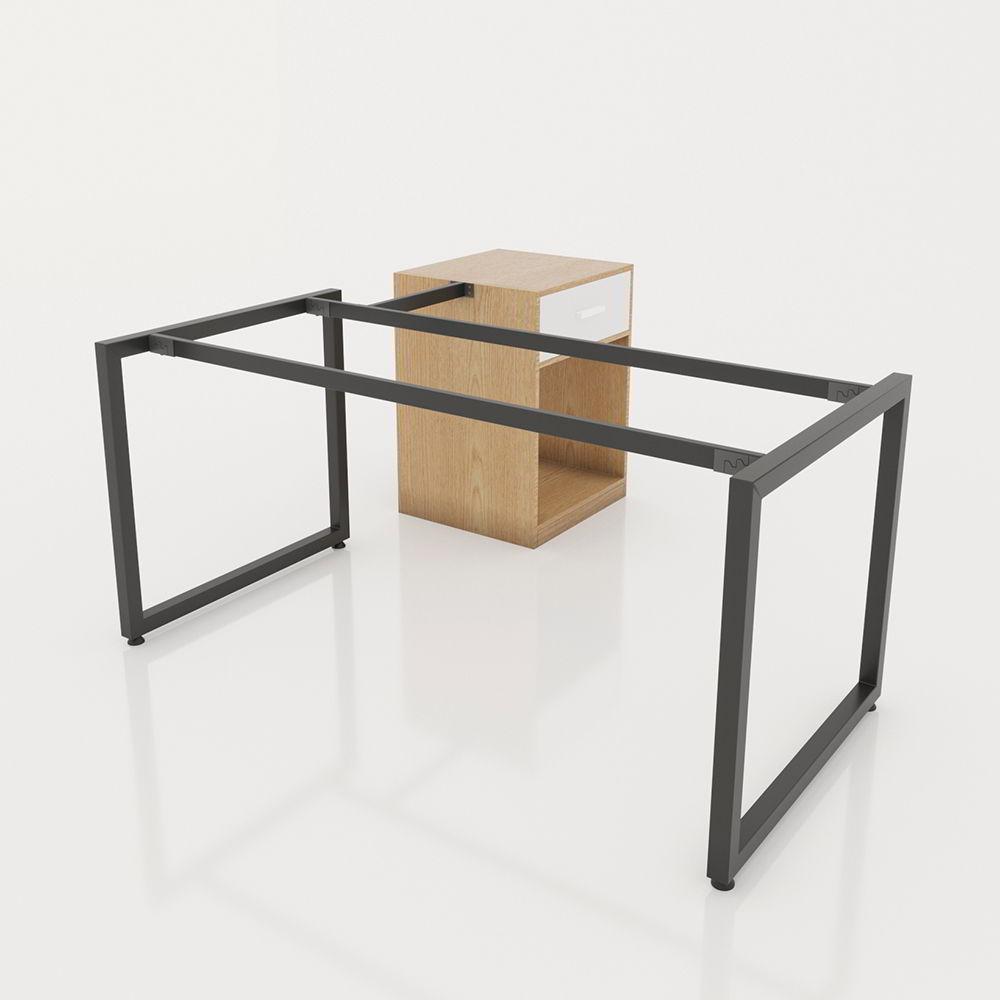 khung chân bàn gác tủ sắt 40x40