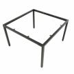 chân sắt bàn cụm 2 chỗ ngồi