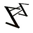 Chân bàn theo bảng chữ cái
