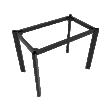 Chân bàn sắt Oval 30x60