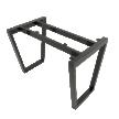 Chân bàn sắt lắp ráp hệ Trapez
