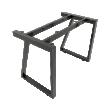 Chân bàn sắt hệ Trapez II