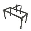 Chân bàn sắt lắp ráp hệ Uconcept