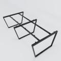 HCTC021 - Chân bàn cụm 4 240x120 hệ Trapez Concept lắp ráp