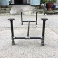 CON004 - Chân bàn ống nước 1200x600x350mm sắt ống phi 27