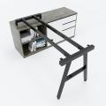 HCAC23 - Chân bàn gác tủ 140x140 hệ AConcept lắp ráp