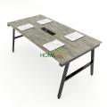 HBAC011 - Bàn họp 180x90 AConcept lắp ráp