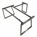 HCTH020 - Chân bàn chữ L 160x160 hệ Trapeze II Concept lắp ráp