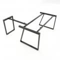HCTH021 - Chân bàn chữ L 180x160 hệ Trapeze II Concept lắp ráp