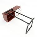HCTH024 - Chân bàn gác tủ 160x80 hệ Trapeze II Concept lắp ráp