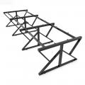 HCKC013 - Chân bàn sắt hệ KConcept 360x120 lắp ráp