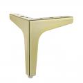 PKCT005 - Chân ghế sofa inox cao 10cm mạ màu vàng