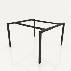 NVCV005 - Chân bàn nhân viên 1200x1200mm sắt vuông 40x40 lắp ráp