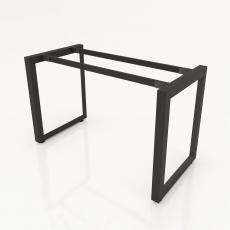 NVTG009 - Chân bàn nhân viên 1200x600 tam giác quỳ lắp ráp ngàm