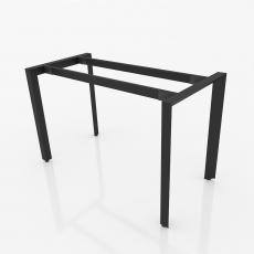 NVTG001 - Chân bàn nhân viên 1200x600mm sắt tam giác lắp ráp ngàm