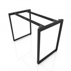 NVCN015 - Chân bàn nhân viên 1000x600 sắt 25x50 lắp ráp ngàm