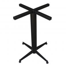 CBCF004 - Chân bàn cafe sắt sơn tĩnh điện cao 72cm