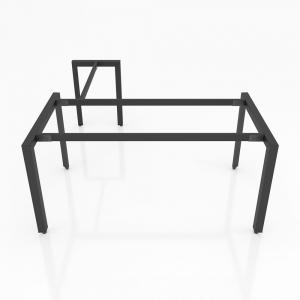 GDTG003 - Chân bàn giám đốc 1600x800mm sắt tam giác lắp ráp ngàm