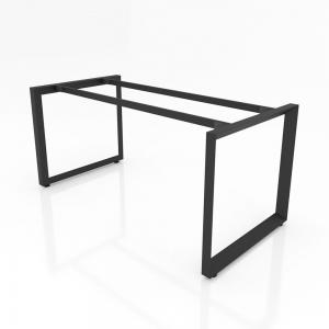 BHTG004 - Chân bàn họp 1600x800 sắt tam giác quỳ lắp ráp ngàm