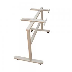 CBG003- Chân bàn gấp cao 73cm có bánh xe di chuyển