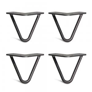 CBHP001 - Chân bàn sắt Hairpin cao 10cm