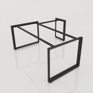 GDTG011 - Chân bàn giám đốc 1600x800mm sắt tam giác lắp ráp ngàm