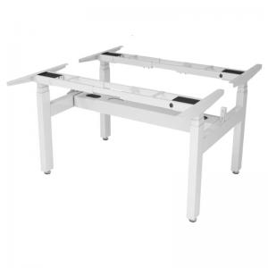 CBNT33-4A3 - Chân bàn nâng hạ điện cụm 2 người 4 chân trụ 3 khớp