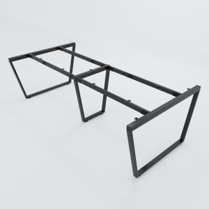 HCTC019 - Chân bàn họp 240x120 hệ Trapez Concept lắp ráp