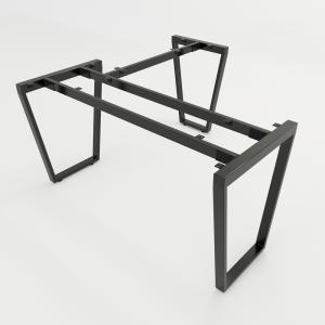 HCTC007 - Chân bàn chữ L hệ 140x140 Trapez Concept 140x140 lắp ráp