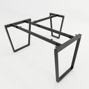 HCTC008 - Chân bàn chữ L 150x140 hệ Trapez Concept lắp ráp