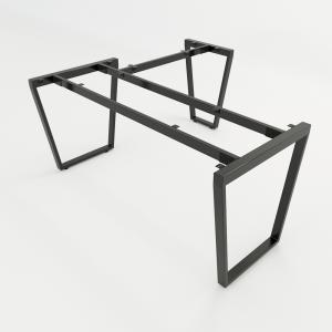HCTC009 - Chân bàn chữ L 150x160 hệ Trapez Concept lắp ráp