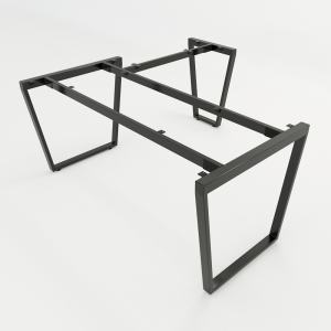 HCTC010 - Chân bàn chữ L 160x160 hệ Trapez Concept 160x160 lắp ráp