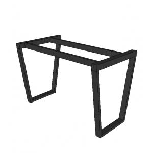 CBGTN001- Chân bàn hình thang cao 70cm sắt 25x50mm