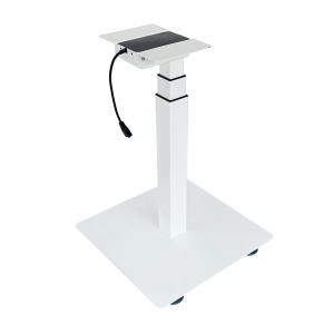 CBNT33-E1 - Chân bàn nâng hạ điện 1 trụ đế tròn