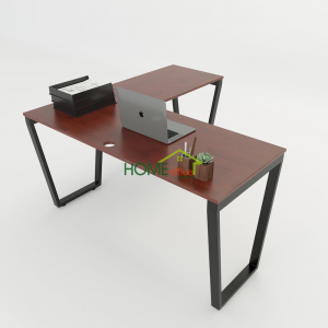 HBTC015 - Bàn Chữ L 140x140 Trapeze Concept lắp ráp