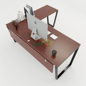 HBTC020 - Bàn Chữ L 180x160 Trapeze Concept lắp ráp