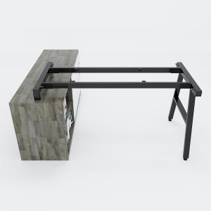 HCAC24 - Chân bàn gác tủ 140x150 hệ AConcept lắp ráp