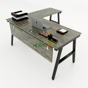 HBAC020 - Bàn chữ L 160x150 AConcept lắp ráp