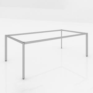HCOV011 - Chân bàn họp hệ Oval Concept 180x90 lắp ráp
