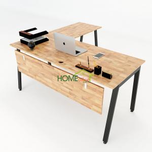 HBAT017 - Bàn chữ L 160x150 Aton Concept lắp ráp