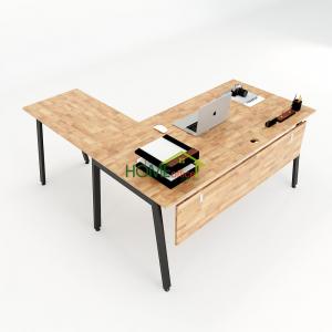 HBAT018 - Bàn chữ L 160x160 Aton Concept lắp ráp
